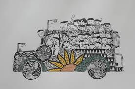 philippines jeepney vector philippines philippinejeepneys jeepneyart jeepneys sketches