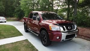 nissan armada with black rims powder coated oem wheels nissan titan forum