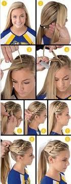baseball hair styles best 25 softball hair ideas on pinterest softball hair braids