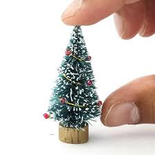 miniature christmas trees miniature christmas trees for crafts find craft ideas