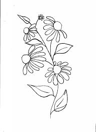 Flowers Designs For Drawing Simple Floral Designs For Drawing Drawing Art Gallery
