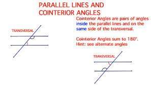 Alternate Corresponding And Interior Angles Mathematicsgradesix Mansur U0027s Shapes U0026 Designs
