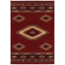 Round Red Rugs Floor Perfect Area Rug For Your Living Room By Using Rustic Rugs