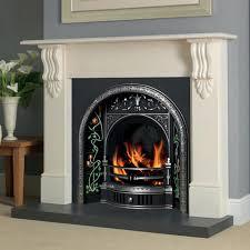 great deals cast tec belfast fireplace insert unique design