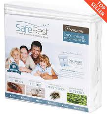 bed bug mattress and box spring encasements saferest premium bed bug proof box spring encasement up to 9