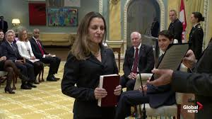 Russian Cabinet Why Is Canada U0027s Top Diplomat Chrystia Freeland Banned From