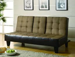brown microfiber sofa bed tan dark brown microfiber sofa bed futons pinterest microfiber