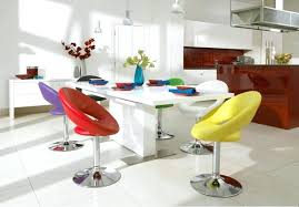 colorful dining table colorful dining set bright coloured dining chairs modern round