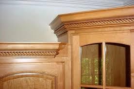 decorative molding kitchen cabinets lush cabinet crown molding ideas crown molding ideas and adding
