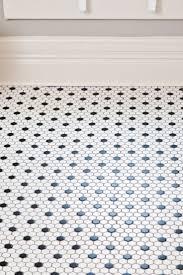 black and white hexagon tile floor with design image 9341 kaajmaaja