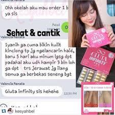 Jual Gluta distributor thailand skincare gluta infinity original korea