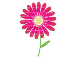 pink flower hot pink flower clipart clipart panda free clipart images