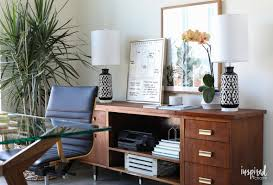 decorating a home office inspired by charm