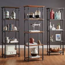 industrial bookcase home vid