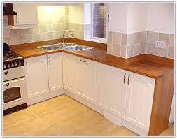 Kitchen Sink Cabinets - Corner kitchen sink design