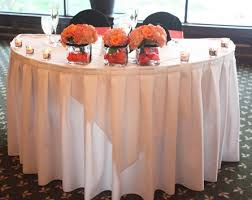 Sweet Heart Table Reception Decor The Sweetheart Table And The Head Table
