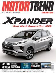 mitsubishi indonesia motor trend indonesia magazine august 2017 scoop
