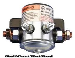 how to test solenoid on ezgo golf cart