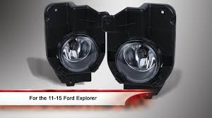 Ford Explorer Upgrades - 2011 2015 ford explorer fog light with universal switch youtube
