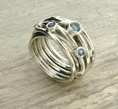silver coloured rings images Women 39 s rings personalised rings for women jpg