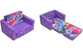 Kids Fold Out Sofa by New Kids Flip Out Sofa My Little Pony Cutie Pie Rarity Applejack