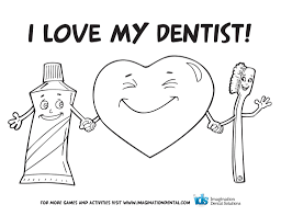tooth coloring pages day dental col spesific dental coloring pages