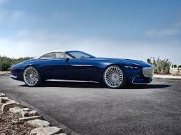 luxury mercedes maybach vision mercedes maybach 6 cabriolet is the future of electric