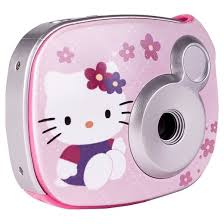 kitty 2 1mp digital camera pink target