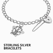 sterling silver bracelet with charms images Charm bracelets charms online jpg