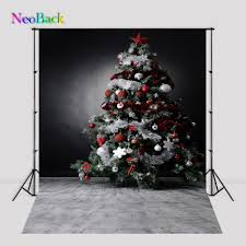 vintage christmas tree neoback 6x9ft 8x12ft viny new born baby photography backgrounds