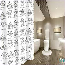 Duck Shower Curtains Bathroom Amazing Long Shower Curtain Rod Extra Wide Shower