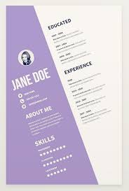 Interesting Resume Templates 15 Eye Catching Resume Templates That Will Get You Noticed