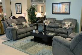 Recliner Sofa Sets 2 Reclining Sofa Set In Seal Fabric By Catnapper 19445 2 S