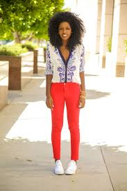 Skinny Jeans And Converse Style Pantry Red Skinny Jeans