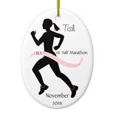 half marathon ornaments keepsake ornaments zazzle