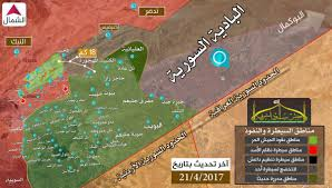 Syria Situation Map by Day Of News On The Map April 21 2017 Map Of Syrian Civil War