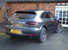 porsche macan grey uk car broker