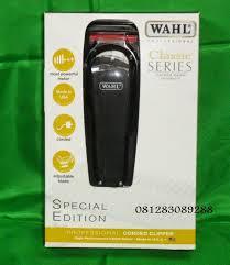 jual alat dan mesin cukur rambut perlengkapan salon mesin cukur rambut merk wahl special edition black jual alat