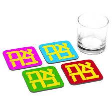 zion u0027s figure coasters cool jewish gifts ofek wertman