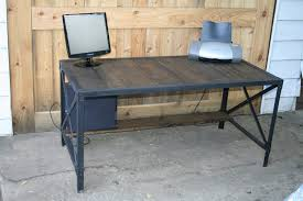 industrial desk this was a big order of 6 industrial style desks