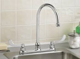Moen Two Handle Kitchen Faucet Repair Sink U0026 Faucet Stunning Kitchen Faucet Sprayer Polished Nickel