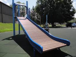 League For The Blind And Disabled Improved Playgrounds And Ball Fields Allow Disabled Kids To Play