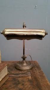 le de bureau ancienne en laiton ancienne le de piano ou de bureau bronze et laiton