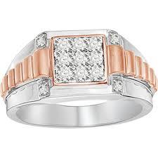 rings gold men images 10k white gold rose gold tt 0 50ct round diamond mens ring jpg