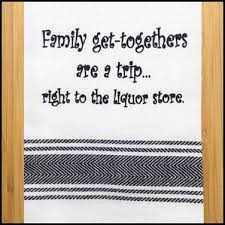 family get togethers are a trip towel ladles linens kitchen shoppe