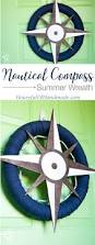 Nautical Decoration by Nautical Compass Wreath For Summer A Houseful Of Handmade