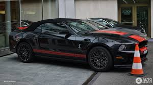 mustang shelby gt500 convertible ford mustang shelby gt500 convertible 2014 2 april 2017 autogespot