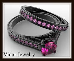 Vancaro Wedding Rings by Vancaro Black And Pink Ring 18 Free Hd Wallpaper