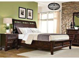 Sleigh Bed With Drawers Intercon Bedroom Hayden Sleigh Bed With Storage Hy Br 5950ks Rse C