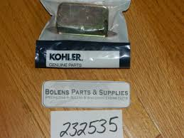 kohler engine kohler breaker points cover u0026 grommet 232535